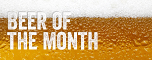 Beer of the Month at Cheers Sport Bar and Grill